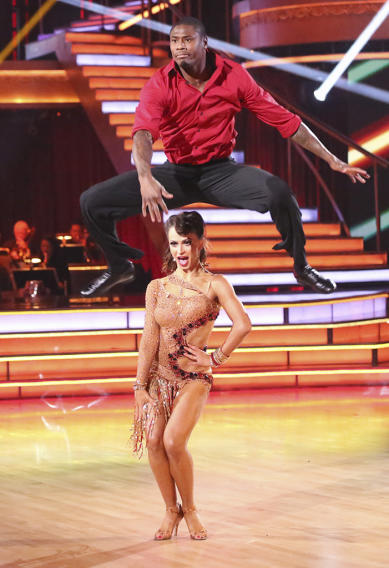 Jacoby Jones and Karina Smirnoff (4/29/13)