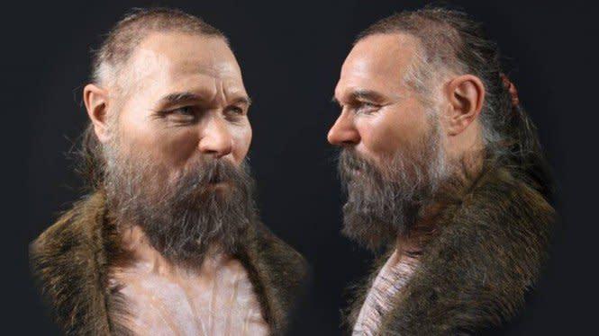 Rekonstruksi Wajah Korban Ritual, Hidung Mancung dan Berjenggot