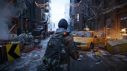 "This video game image released by Ubisoft shows a scene from ""Tom Clancy's The Division."" (AP Photo/Ubisoft)"
