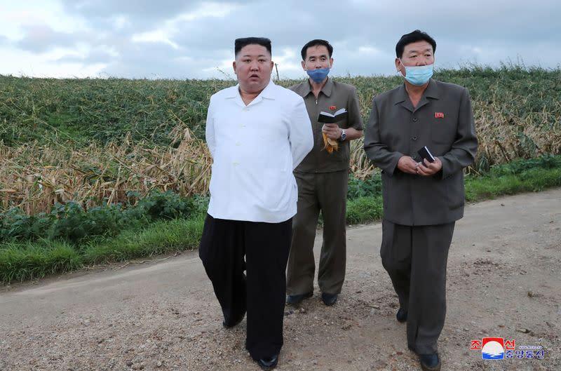 North Korea's Kim says Typhoon Bavi caused little damage - KCNA