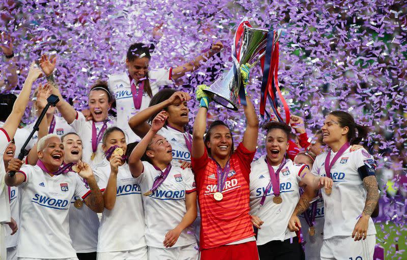 FILE PHOTO: Women's Champions League Final - Olympique Lyonnais v FC Barcelona