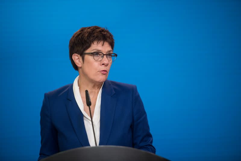 Germany replaces military intelligence boss after far-right scandals