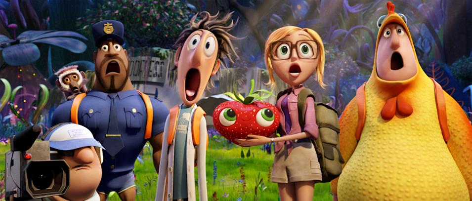 Cloudy With a chance of meatballs 2 still 7