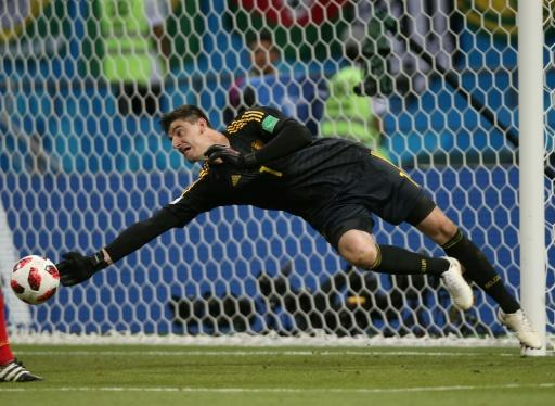 Thibaut Courtois made nine saves in Friday's 2-1 win over Brazil