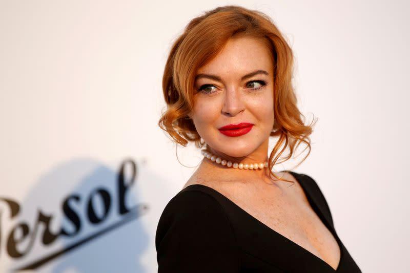 Lindsay Lohan says 'I'm back!' teasing new single amid pandemic
