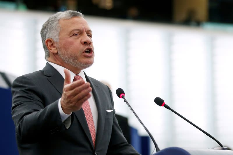 Jordan's King Abdullah swears in new government to speed reforms