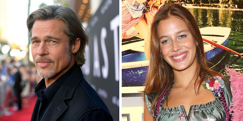 All About Nicole Poturalski, Brad Pitt's Model Girlfriend He's 'Falling' For
