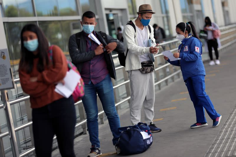 Colombia's capital lifts most coronavirus measures but says new outbreak inevitable