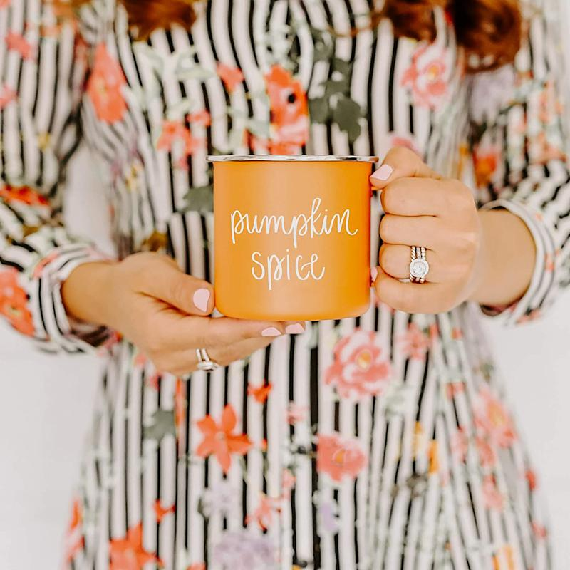 Pumpkin Spice Campfire Mug. Image via Amazon.
