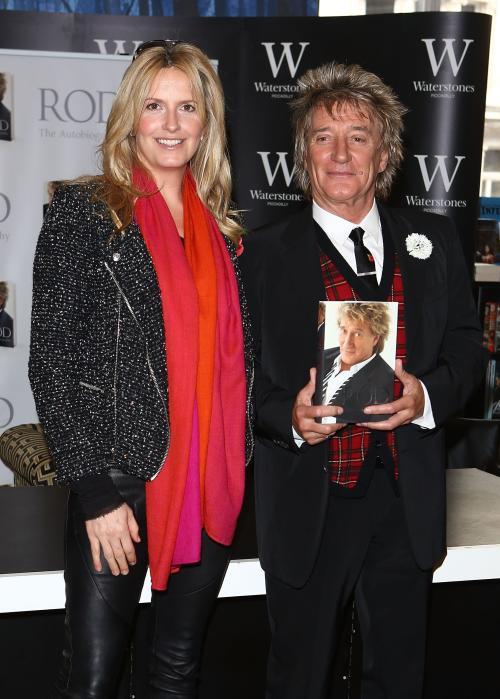 Rod Stewart - Book Signing