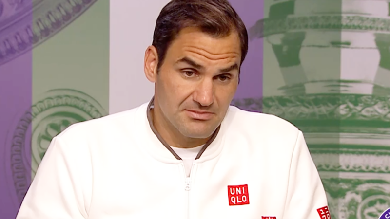 Roger Federer says maybe the next generation of stars just aren't as talented. Image: Wimbledon