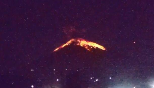 Bali's Mt Agung erupted Friday night. Source TwitterMore
