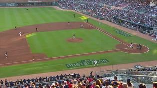 幫主輕鬆寫意 Christian Yelich完成7傳4雙殺守備【MLB球星精華】20211013