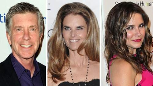 Tom Bergeron, Maria Shriver, Sophia Bush -- Getty Images