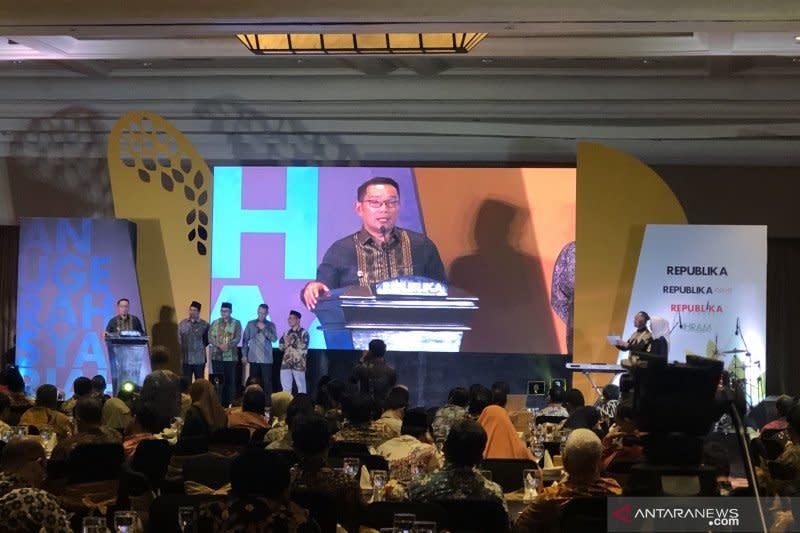 Jawa Barat raih penghargaan destinasi wisata halal terfavorit