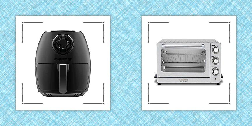 """<p>If you're a fan of convenience cooking and crispy foods, you may have found yourself perusing articles like, well, like this one, wondering if you should get yourself an air fryer (a.k.a. """"the <a href=""""https://www.countryliving.com/life/a46228/best-air-fryers/"""" target=""""_blank"""">best new thing</a> since <a href=""""https://www.countryliving.com/food-drinks/g19832421/instant-pot-ideas/"""" target=""""_blank"""">Instant Pots</a>"""").</p><p>On the one hand, they can take up sometimes precious countertop space. On the other, they're incredibly efficient at heating (or reheating), and getting foods quite crispy and delicious without a lot of oil or mess. Though they're not necessarily for everyone, many home cooks swear by their air fryers and get daily use out of them. </p><p>To figure out which air fryers are worth the investment, which features are worth seeking out, and exactly how much counter space it's worth devoting to one, the <em>Country Living</em> editors dug through the dozens of air fryers and air-fry-capable devices out there, and then selected seven of the most highly rated or best-selling ones, to test, and to figure out what we loved (or didn't love), to help you decide which, if any, to buy. We looked at places like our sister site <em><a href=""""https://www.goodhousekeeping.com/appliances/a24630295/best-air-fryers-reviews/"""" target=""""_blank"""">Good Housekeeping</a></em>, as well as the <em>New York Times'</em> Wirecutter and other review sites, and of course we paid attention to what's moving fast on Amazon and other appliance sales sites. Then we put each air fryer through a series of tests, seeing how long it took to get frozen French fries perfectly crispy, and how well and evenly it heated foods. And of course we tested out all the features available. (It's a hard job, but someone has to do it.) You can see what we thought below. But first, a few thoughts about air fryers in general.</p><h2 class=""""body-h2"""">Who Should Get an Air Fryer</h2><p>If you're regularly cooki"""