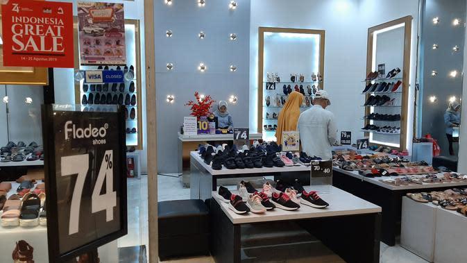 Pertama kali digelar, Indonesia Great Sale resmi dibuka oleh Menteri Perdagangan Enggartiasto Lukita, di Tangcity Mall Kota Tangerang, Rabu (14/8/2019).