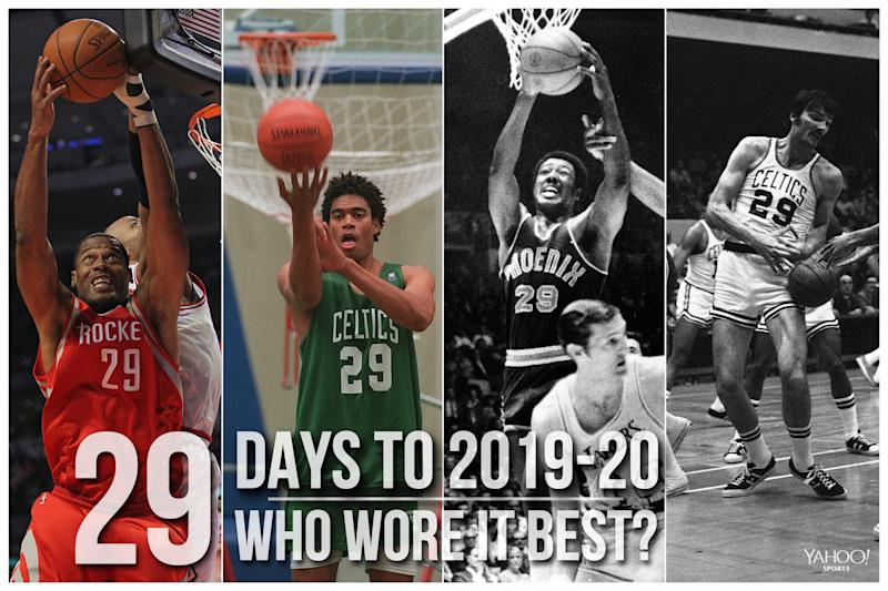 Which NBA player wore No. 29 best?