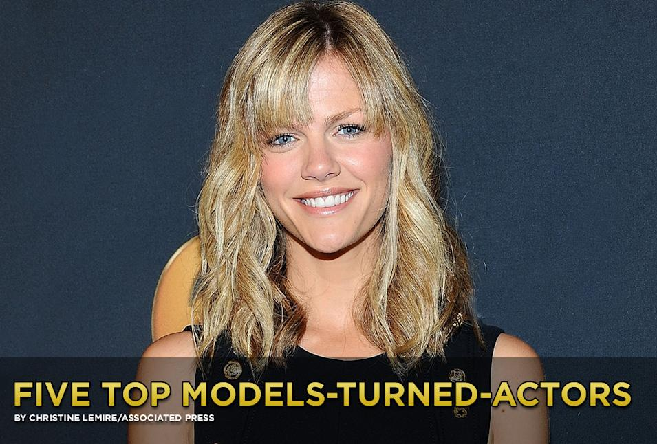 Five Top Models Turned Actors Gallery Title Card
