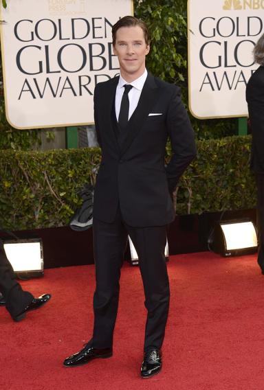 "NBC's ""70th Annual Golden Globe Awards"" - Arrivals: Benedict Cumberbatch"