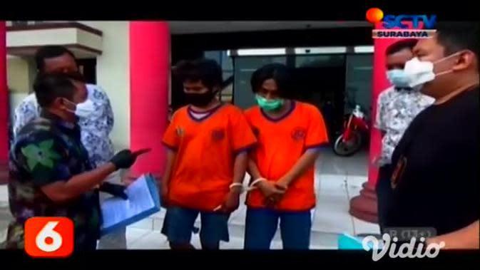 VIDEO: 13 Kali Beraksi, Polisi di Surabaya Lumpuhkan Residivis Curanmor