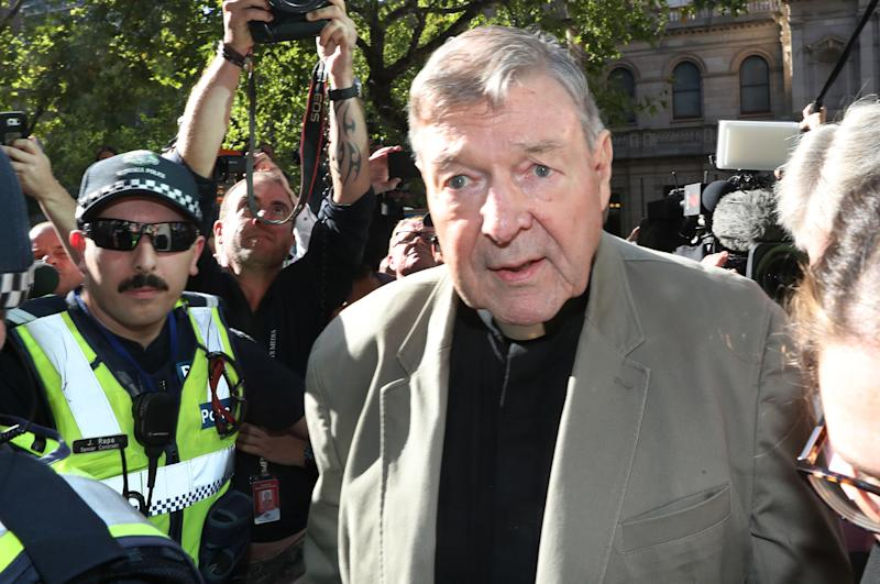 Cardinal George Pell to be held in custody, bail revoked