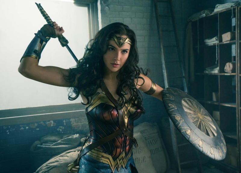 Gal Gadot as Wonder Woman in 2017's Wonder Woman