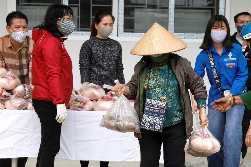 FILE PHOTO: Coronavirus disease (COVID-19) outbreak in Hanoi