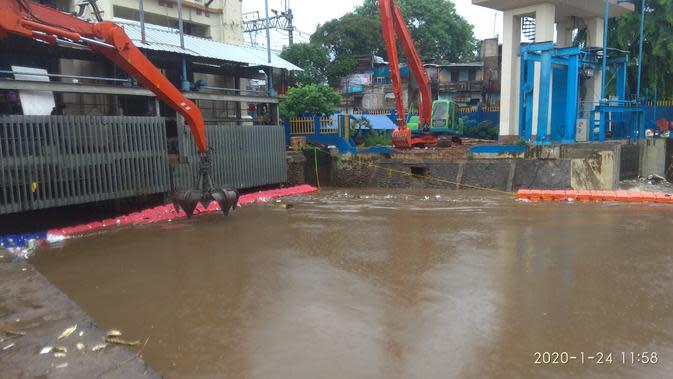 BPBD DKI: Status Pintu Air Manggarai Normal, Angke Hulu Waspada