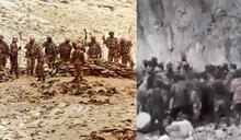 中世紀大戰?解放軍拿關刀戰狼牙棒 中印械鬥影片曝