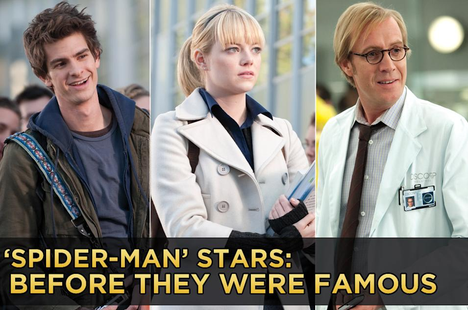 Spider Man Stars Before they were famous