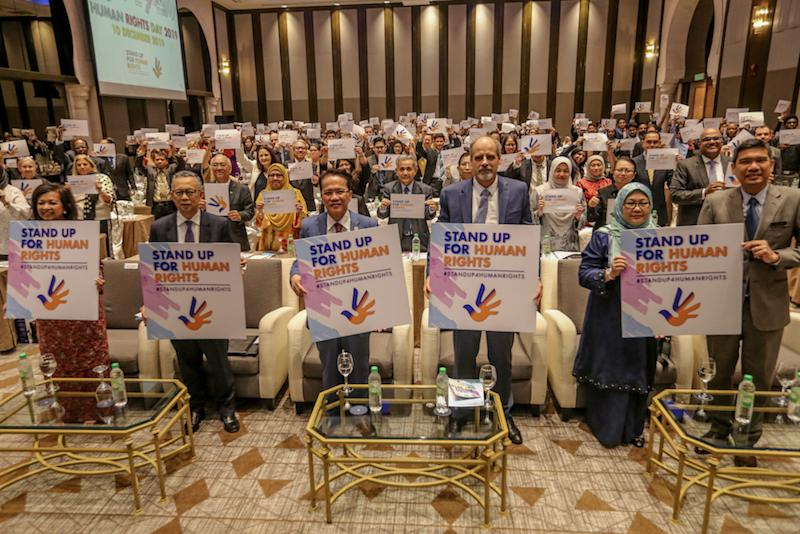 Minister in the Prime Minister's Department Datuk Liew Vui Keong attends the Human Rights Day Forum in Kuala Lumpur December 10, 2019. — Picture by Firdaus Latif