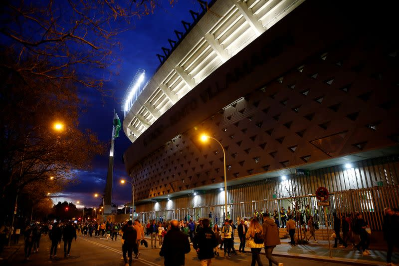 FILE PHOTO: La Liga Santander - Real Betis v Real Madrid