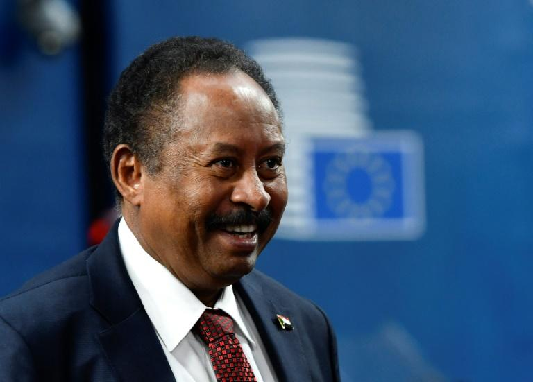 Sudan's Prime Minister Abdalla Hamdok, seen here in November 2019, is the first Sudanese leader to visit Washington since 1985