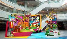 【聖誕好去處】屯門、沙田三大商場打造聖誕漫畫世界 巨型漫畫牆+互動螢幕遊戲