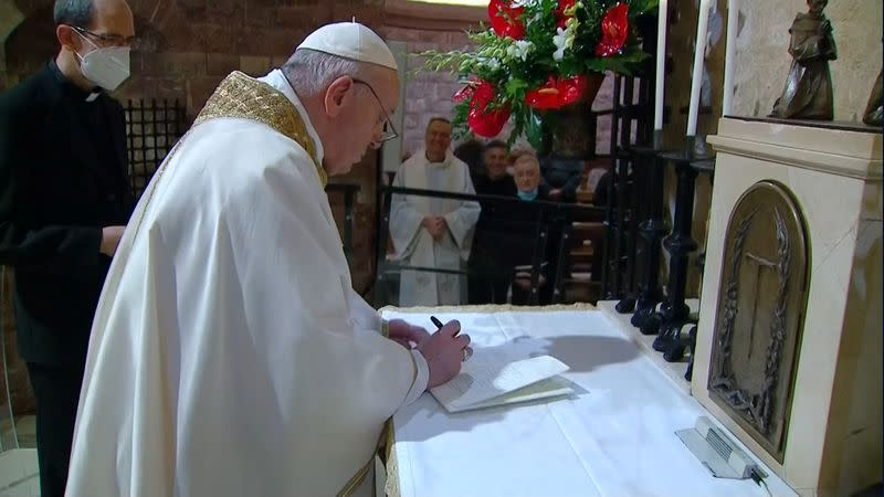 Pope signs new encyclical, but is title inclusive enough?