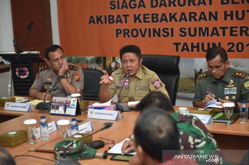 Gubernur perpanjang status Satgas Karhutla Sumsel hingga Desember