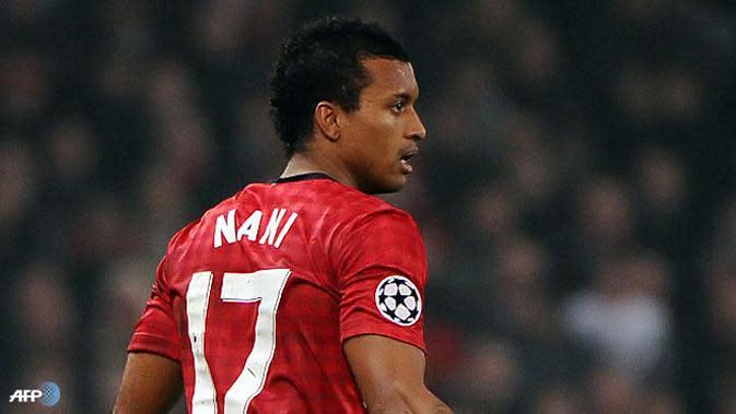 Mantan pemain MU, Luis Nani. (AFP)