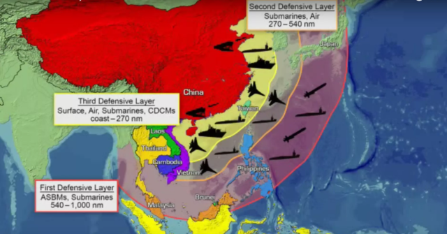 China a2ad anti-access area denial
