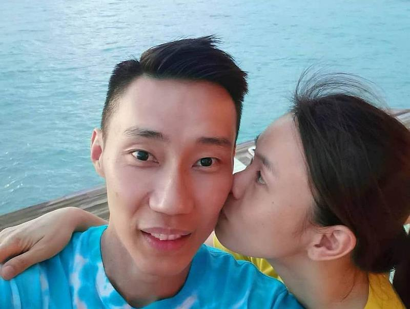 The couple is currently on a long-awaited honeymoon in the Maldives. — Picture from Instagram/leechongweiofficial