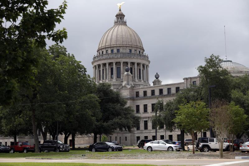 Virus Outbreak Mississippi Legislature