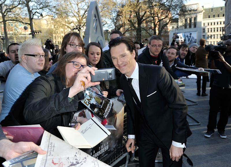 Benedict Cumberbatch and Top Fan Frown on 'Cumberb—-es'
