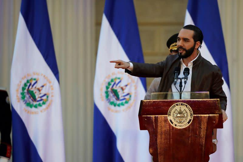 El Salvador president seeks emergency powers to fight coronavirus