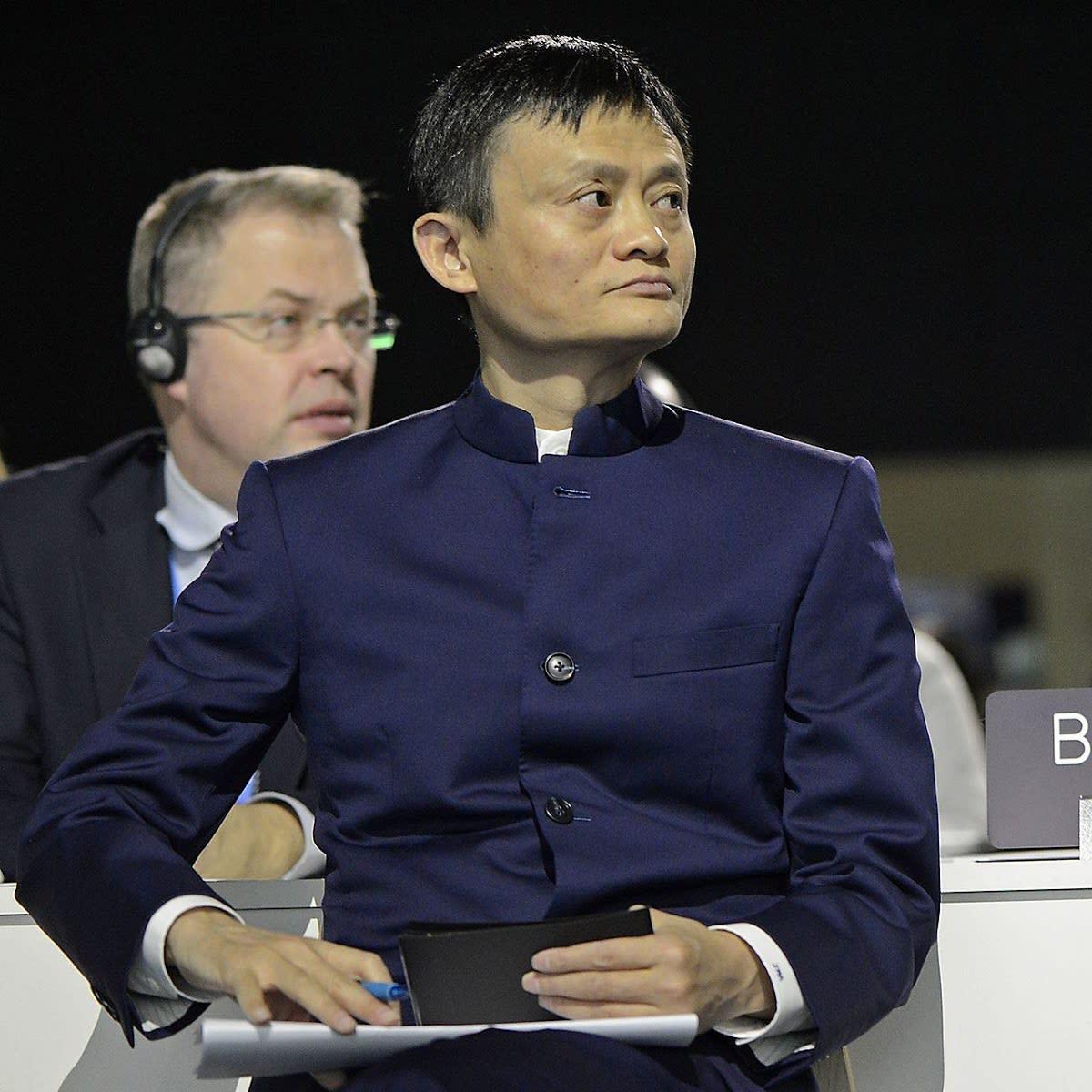 阿里巴巴集團董事局主席馬雲。 圖:翻攝自 維基百科
