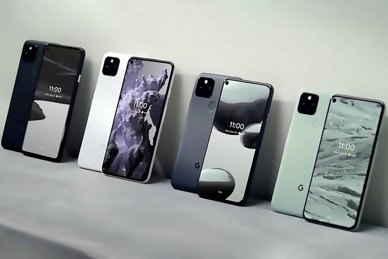 Google Pixel 5G compared feat image