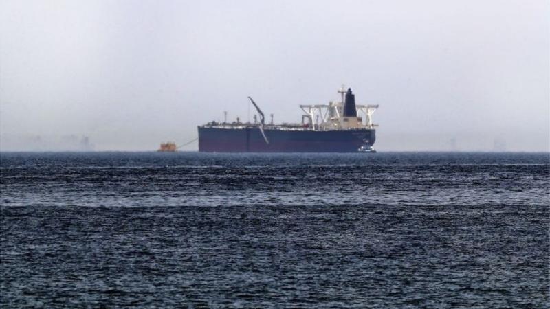 Oil tanker file image