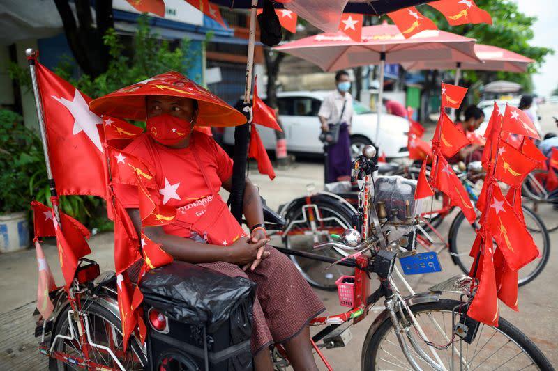 Myanmar election app goes offline, has been criticized over label for Rohingya