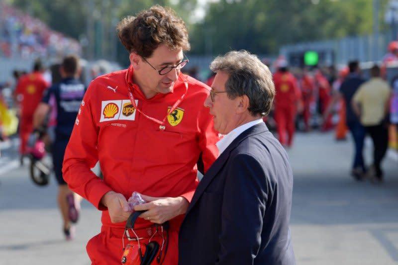 "Bos Ferrari akui timnya ""sedang di dalam lubang"""