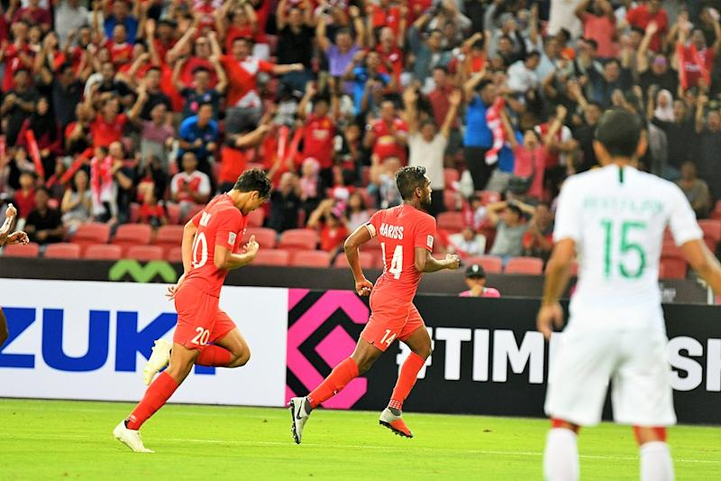 Hariss Harun embodies the spirit of this new Singapore side