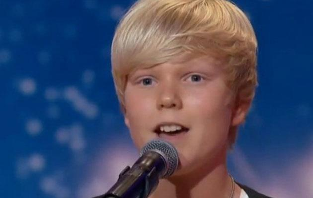 The singer won Australia's Got Talent as a 14-year-old. Source: Channel 7